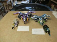 TRANSFORMERS ENERGON PARTS LOT MEGATRON and GALVATRON