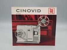 """Original 1962 """"CINOVID MOVIE PROJECTOR"""" Leica/Leitz Brochure"""