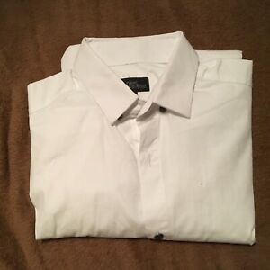 Next Boys School Shirt Size small White Good Condition muscle fit