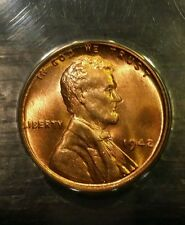 1942 P USA Lincoln Cent ANACS MS64 Red Quality Brilliant Condition Penny Coin