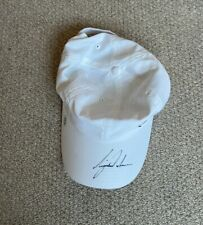 Tiger Woods Autographed Golf Cap with COA