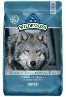 Blue Buffalo Wilderness High Protein Grain Free, Natural Adult Dry Dog Food 11lb