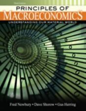Principles of Macroeconomics : Understanding Our Material World by Dave Shorow,