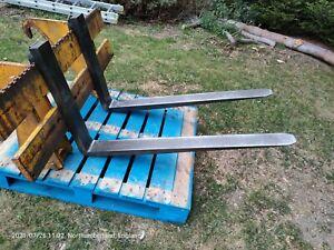 JCB 2CX Front Pallet Fork Attachment