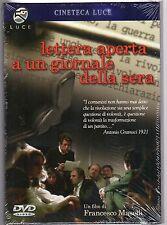 dvd LETTERA APERTA A UN GIORNALE DELLA SERA Francesco MASELLI