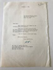 President Herbert Hoover 1956 Typed Letter Signed - Harry Truman Reference