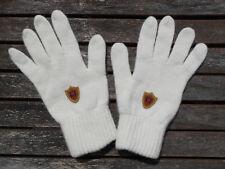 Luxe Oh `Dor Handschuhe 70% Merino Wolle 30% Kaschmir wollweiß US S/M UK 7 - 9