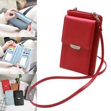 Damen Handy Umhängetasche Geldbörse RFID Crossbody kleine Handtasche Tasc Schutz