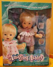 Lil'l Amazing Ashley Playmates Interactive Doll Talks Eats Moves Arms Mip Rare