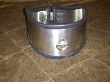 Stainless Steel and Rubber Sub Collar Posture, Unisex Adjustable uk!