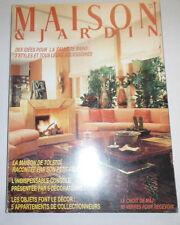 Maison & Jardin French Magazine La Maison No.22 November 1984 101414R1