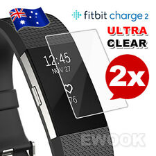 2x for Fitbit Charge 2 Compact TPU Hardness LCD Screen Protector Real Films