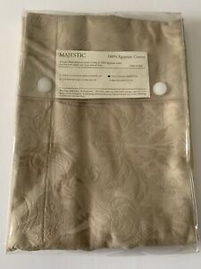 NIP, One Sferra MAJESTIC Matelasse Floral Taupe Standard Sham Made In Italy