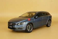 1:18 Volvo V60 blue color model + gift