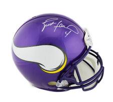 Brett Favre Signed Minnesota Vikings Current Authentic NFL Helmet