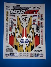 SUPER HORNET CUSTOM TAMIYA HPI LOSI RC1/10th PLUS EXTRAS DECALS STICKERS