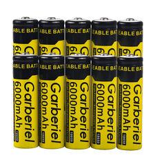 10pcs 6000mAh 18650 Rechargeable Battery 3.7v Li-ion BRC Batteries USA Stock