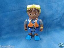 "Mattel Viacom Diego Dora the Explorer Figure in Diving Gear 3 3/4"""