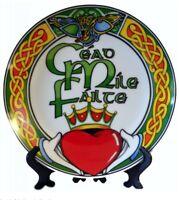Céad míle fáilte Irish Souvenir Plate