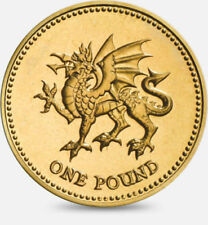 1£ ONE POUND UK COINS FOR SALE BRITISH COIN HUNT Wales: Dragon Passant 2000