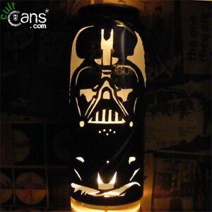 Darth Vader Beer Can Lantern! Star Wars Pop Art Candle Lamp - Unique Gift!