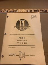 I&T Ford Series 8000 8600 9000 9600 No. Fo-32 Tractor Shop Manual