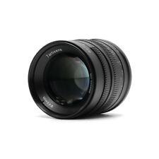 7artisans 55mm F1.4 Large Aperture Portrait Manual Fixed M4/3 Camera Lens