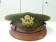 U.S. Army WWII Officers crusher cap, Kopfgröße 54