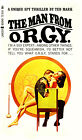 """Paperback Cover Poster - MAN FROM O.R.G.Y. (1965) Canvas Cover Art 14""""x24"""""""