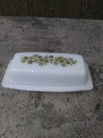 Pyrex/Corelle CRAZY DAISY/SPRING BLOSSOM Covered Butter Dish