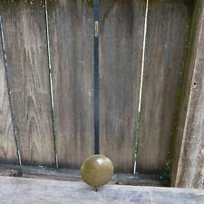 seth thomas antique wall regulator clock pendulum