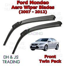 (07-12) Ford Mondeo Aero Wiper Blades / Front Flat Blade Wipers Mk4 Estate