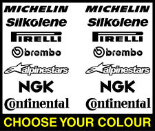 PREMIUM Belly Pan Decal Set Stickers Motorbike Motorcycle Ninja Suzuki Yamaha