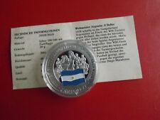 *Cook Island 1 Dollar 2001 Silber PP(500 -ca20g)*Fußball WM/Argentinien(Schu57)