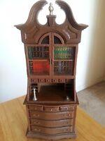 "1974 Vintage 11"" AM Transistor Radio Book Shelf Town & Country Amico"