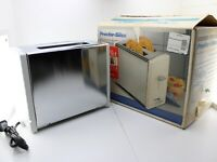 VTG 1994 Proctor Silex 2 Slice Wide Slot Toaster T6394 Chrome White New Open Box