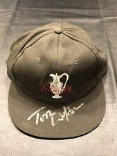"TOM WATSON PGA Tour Auto Signed ""The Tradition"" Hat COA"
