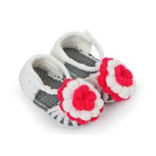Handmade Lovely Newborn Baby Girls Crochet Knitting Toddler Booties Crib Shoes