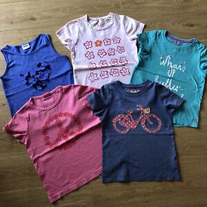 Mini boden Girls T- Shirts Bundle age 7-8 years