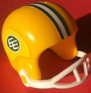 1967-95 CUSTOM CFL Vintage EDMONTON ESKIMOS mini gumball football plastic helmet
