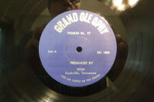 "George Morgan/Marion Worth..., Grand Ole Opry, Program No. 47, 12"" 33 RPM"
