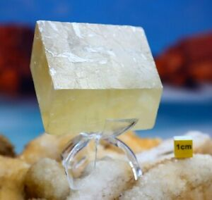 Optical Clear Calcite / Iceland Spar Large Crystal - Natural Raw Mineral 254g