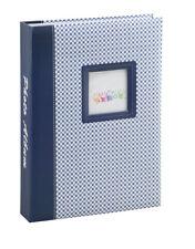 Elements álbum de fotografías en azul para 200 fotos en 13x18 cm embutir álbum de fotografías