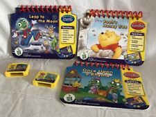 MY FIRST LEAPPAD LEARNING SYSTEM 3 PRESCHOOL BOOKS & 2 GAME Replacements Only