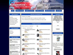Amazon Store Google Affiliate Website Car Motorbike Accessories Store