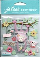 JOLEE/'S BY YOU MID GREEN ROSE LEAF LEAVES EMBELLISHMENTS NEW NIP A8630