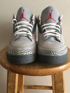 Air Jordan 3 Cool Grey Size 13