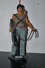 "Hot Toys 1/6 SIXTH SCALE MMS 21 First Blood John J. Rambo 12"" FIGURE"
