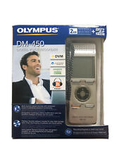 Olympus DM-450 Digital Voice Recorder Dictation Playback  Boxed
