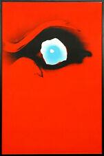 """Otto Piene """"Seuloeil"""" - Farbsiebdruck - handsigniert 120 x80 cm- Auflage nur 75!"""